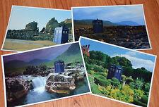 Doctor Who rare TARDIS large Postcards