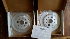 Power Slot 86-89 Acura Integra Rear Slotted Rotors Set (L,R) Model 305PS
