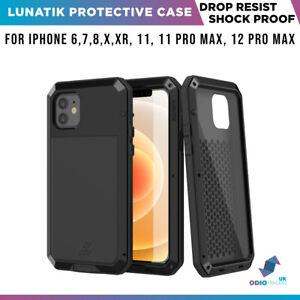 Lunatik Corning Gorilla Glass Protective Case For iPhone 11 X 6s 7 8 Heavy Duty