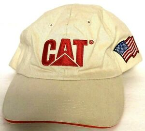 CATERPILLAR/CAT 2014 NASA Robotic Mining Competition Hat/Cap One Size Space Flag