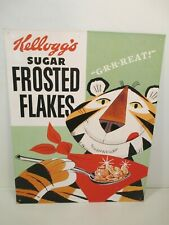 Kelloggs Sugar Frosted Flakes Metal Sign 15x12