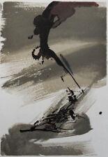 ZAO WOU-KI : Composition - GRAVURE originale #1967 #ART CHINOIS #MOURLOT