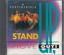 The Continentals : Stand up, Move Out CD Gospel Christian Rock FASTPOST