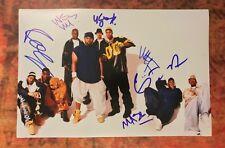GFA Method Man Raekwon x6  * WU-TANG CLAN * Signed 12x18 Photo PROOF AD2 COA