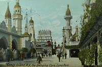 C.1905-10 Luna Park Coney Island, NY Vintage Postcard P88