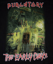 Iron Maiden EARLY DAYS Purgatory T Shirt size L 2004 Vintage RARE Fan Club