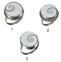 Handmade 925 Solid Sterling Silver Ring Natural Shiva Eye's Stone US Size JSRV16