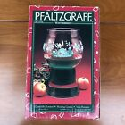 Pfaltzgraff Winterberry Floating Candle - Glass Display Christmas Centerpiece