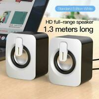 Mini USB Wired Speakers 3D Stereo Sound Computer Speaker d Laptop For PC d I9W9