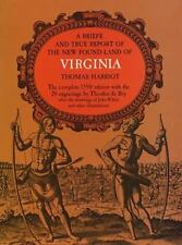 A Briefe and True Report of the New Found Land of Virginia (Rosenwald Collectio