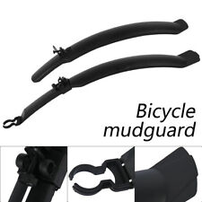 2pcs Cycling Mountain Bike Bicycle Front Rear Fender Mudguard Mud Guard Set AU