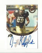 2006 Press Pass Bronze Joe Klopfenstein Rookie AUTOGRAPH Colorado