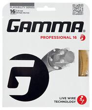 Gamma Live Wire Professional 1.32 mm 16 Tennis Stringhe Set