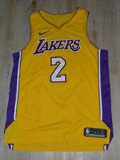 LA Lakers Lonzo Ball #2 AUTHENTIC Basketball Trikot Nike Jersey L 48