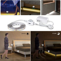 1/5M LED Cabinet Light Motion Sensor 2835 SMD LED Strip lamp with Power supply