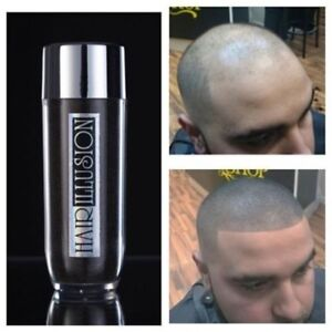 Bald Spot Concealer Hair Fibers by HAIR ILLUSION - Instant Hair Thickening Fiber