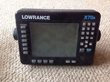 Lowrance X70A Fishing Depth Finder Sonar Graph Untested As-Is