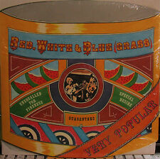 Red, White & Blue (Grass) (GRC 5002) (Norman Blake) (Drum-Shaped Cover!) sealed