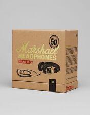 Marshall Major 50FX On-Ear With Mic Earphone-BLACK/gold