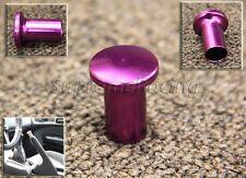 RDT Purple Aluminum Drift Spin Turn E-BRAKE KNOB SILVIA 240SX 180SX S14 S13