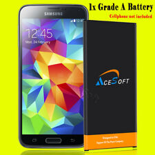 AceSoft 6520mAh Extended Slim Li-ion Battery for Samsung Galaxy S5 G900A Phone