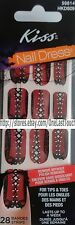 28 KISS Nail Dress Set TRICK or TREAT Art Strip/Applique/Decal HALLOWEEN Corset