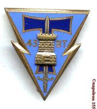 TRANSMISSION. 43 eme Bat. de Transmissions, BT. G.1302. Fab. Drago Paris