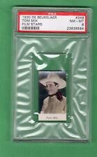 1930 De Beukelaer Tom Mix  PSA 10  Gem MINT  Film Star Card  Very Rare