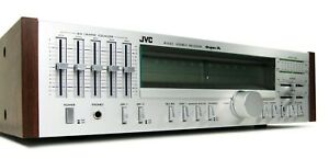 JVC R-S33 SUPER-A VINTAGE RECEIVER 5-BAND EQ IN BOX W MANUAL SERVICED * NICE!