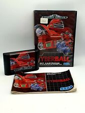 New listing Cyberball for SEGA Megadrive. Tested and Working. Complete in Box with Manual