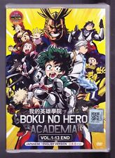 *NEW* BOKU NO HERO ACADEMIA *13 EPISODES*ENGLISH AUDIO*ANIME DVD*US SELLER*