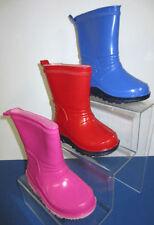 Calzado de niña botas de agua color principal rojo