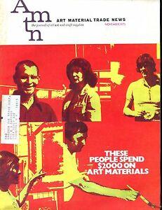 Art Material Trade News Magazine November 1973 VG w/ML 021917jhe