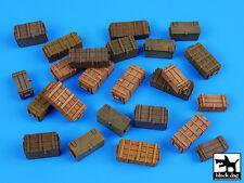 Universal AMMO scatole accessori Set, t35040, Black Dog, 1:35