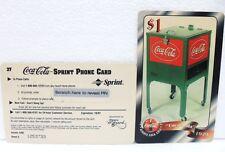 Coca-Cola - 1929 ALWAIS SCORE BOARD - SPRINT PHONE CARD n° 38-sc.10-97-$ 1-