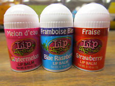 Lot of 12 OraLabs Lip Rageous Mini-Lip Balms Three Flavors!
