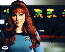 "MICHELE SPECHT as McKENNAH SIGNED 8X10 PHOTO ""STAR TREK CONTINUES""  PSA DNA"