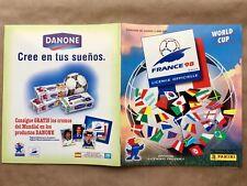 Album Figurine Panini Francia 98 WC Irán Inglaterra Completo