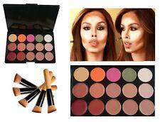 15 Colors Face Makeup Cosmetic Concealer Contour Camouflage Palette #3 + Brush