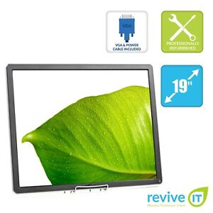 """Dell Professional P1914S 19"""" 1280x1024 IPS LED Backlit LCD Monitor ONLY Grade B"""