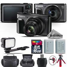 Canon PowerShot SX720 Digital Camera 20.3MP 40x Optical NFC / WiFi - 16GB Kit