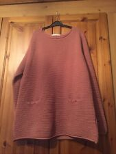 (George) Ribbed Loose Fit Jumper Size 16