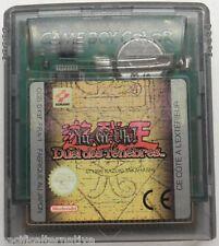 jeu YU GI OH ! DUEL DES TENEBRES nintendo game boy color action vintage spiel