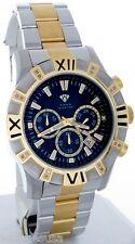 Aqua Master Chronometer Black Dial Men's Duo Black and  Gold Tone Watch W#333_c