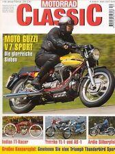 MC9801 + MOTO GUZZI V7 Sport + YAMAHA YL-1 / AS-1 + MOTORRAD CLASSIC 1 1998