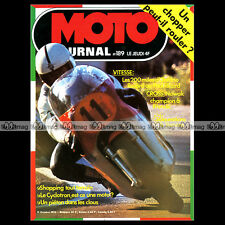 MOTO JOURNAL N°189-b CHOPPER HONDA CB 750 1974 ★ POSTER LANSIVUORI & PHIL READ ★
