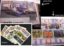 Motor Cycle Racing Speedway Racers Joey Dunlop,Stickers