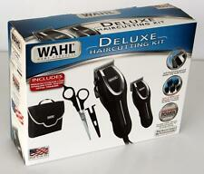 Wahl Deluxe Hair Clippers + Trimmer + Shears 23 Pc Complete Hair Cutting Kit Set