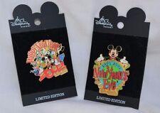 Disneyland Resort 2001 - 2002 New Years Eve Pins