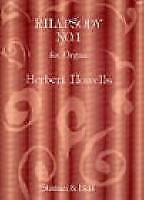 Herbert Howells: Rhapsody No. 1 (Organ Solo) SB16069